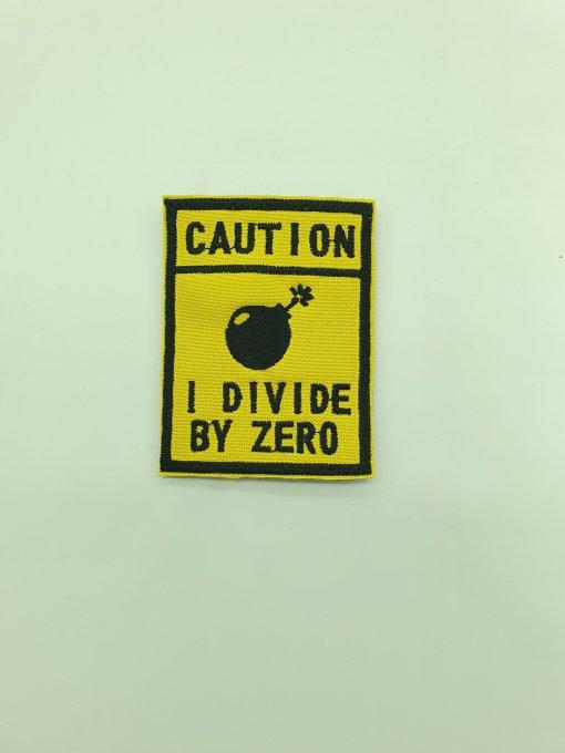 I DIVIDE BY ZERO PARCHE