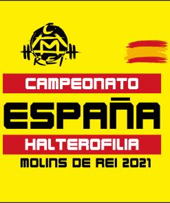 CAMPEONATO ESPAÑA HALTEROFILIA MOLINS DE REI